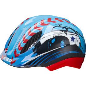 KED Meggy Trend casco per bici Bambino blu